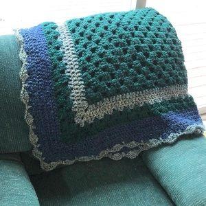 Handmade Crochet Afghan/Throw Blanket